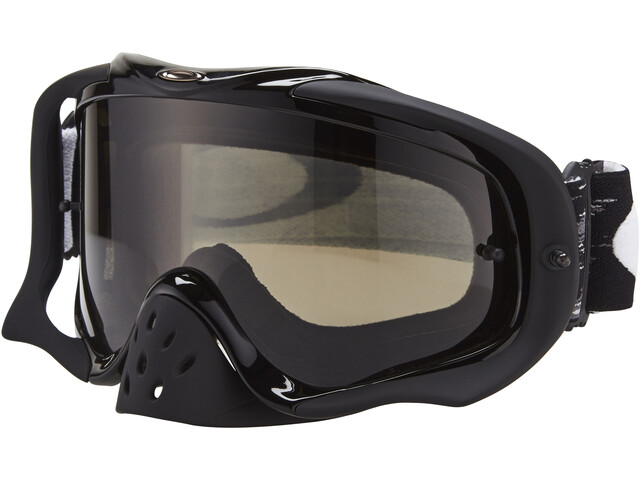 Oakley Crowbar MX Goggles jet black speed/dark grey